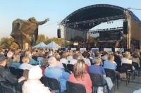 Koncert Chóru pod dyrekcją Beaty Nowickiej, na festiwalu Na Żołnierską Nutę, pod Pomnikem Kościuszkowców, 2007