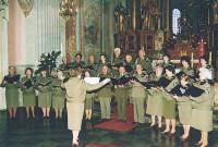 Koncert Chóru w Kościele św Anny pod dyrekcją Beaty Nowickiej, 2007